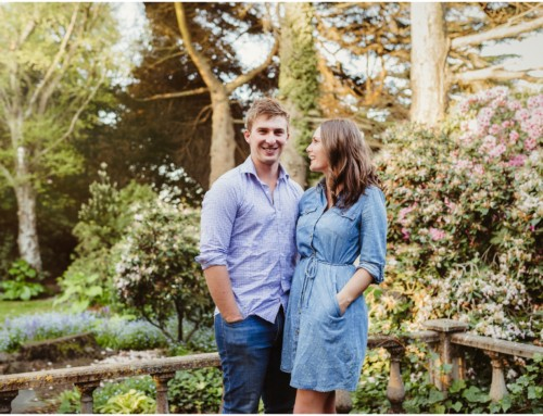Isaac Heritage Village Engagement Session | Aidan and Laura