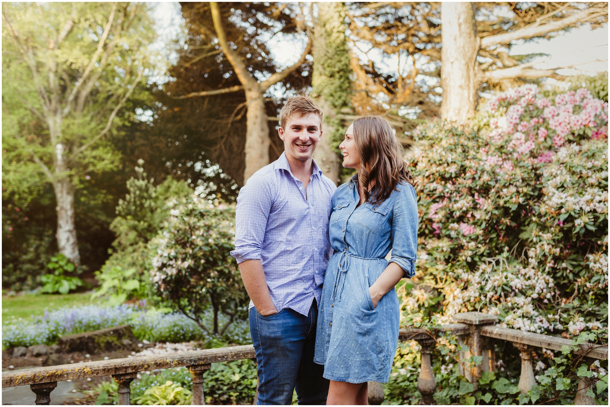 Aidan and Laura's Engagement Shoot in Isaac Heritage Village