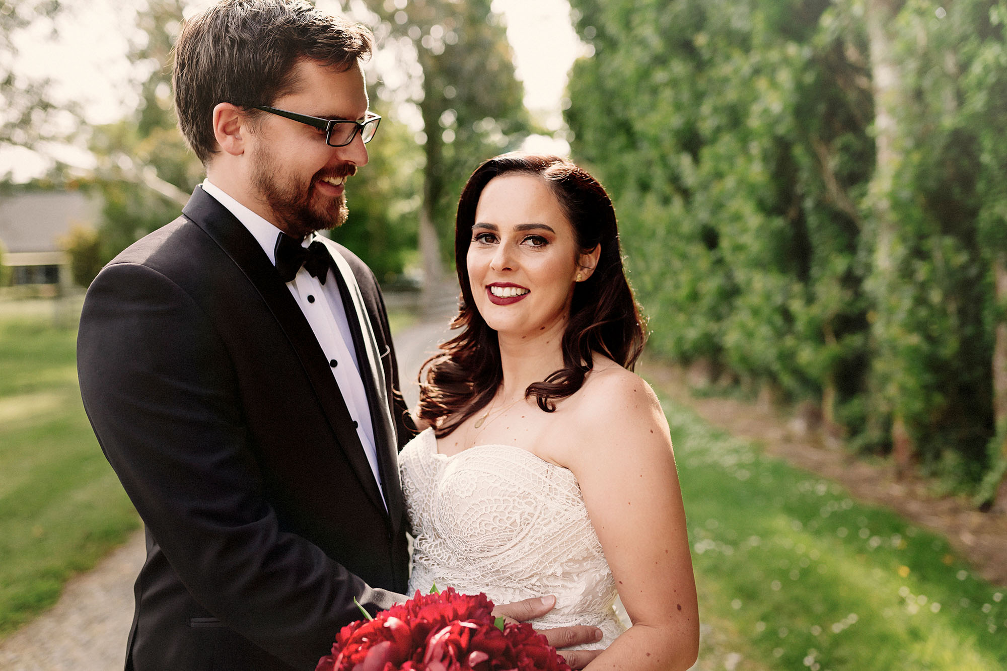 Cossars Vineyard wedding photography tai tapu