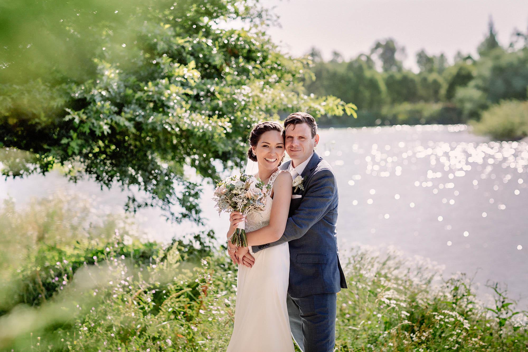Darjon vineyard wedding photograph