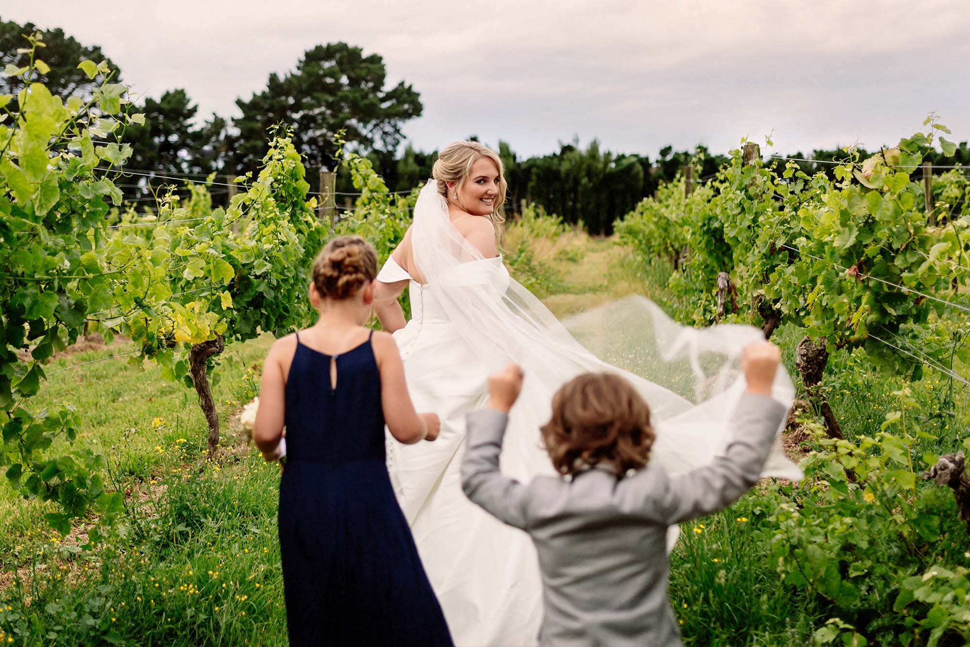 Laura + Brian | Larcomb Vineyard