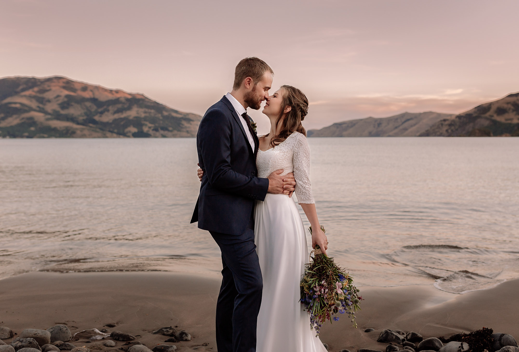Hannah + Oli | Wainui Wedding