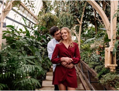 Botanical Engagement Session | Alise + Craig